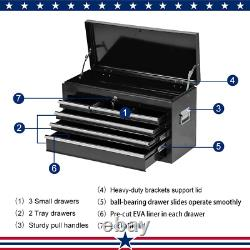High Capacity Rolling Tool Chest With Wheels And Drawers, 8-Drawer Tool Storage