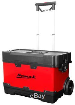 Homak Metal and Plastic Roll Away 23 Tool Box