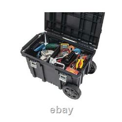 Husky 26-inch Connect Rolling Tool Storage Box Black