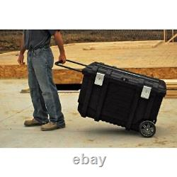 Husky 37 in. Rolling Tool Box Utility Cart Black Delivered in 3 Days or Less