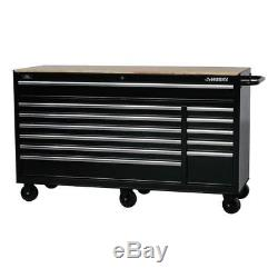 Husky Portable Rolling Toolbox Garage Heavy-Duty Mobile Workbench 66 12 Drawers