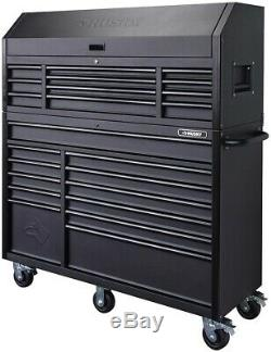 Husky Rolling Cabinet Tool Chest Storage 56 in. 23-Drawer 18-Gauge Steel