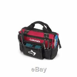 Husky Rolling Tool Tote Mobile Toolbox Cart 18 in With 2 Bonus Bags 16 & 14