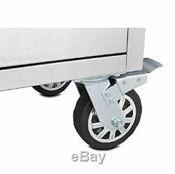 Industrial Mobile Work Bench Mobile Rolling Tool Box Chest Storage Cabinet Job