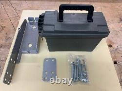 John Deere 650/ 750/ 850/ 950/ 1050 Tractor Roll Bar Mount Tool Box