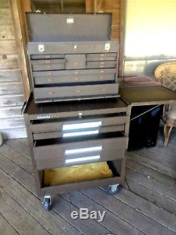 Kennedy Rolling Machinist Tool Cabinet / Cart box Chest snap on Craftsman cobalt