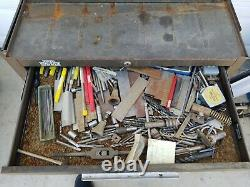Kennedy tool box roll away with tools machinist toolbox