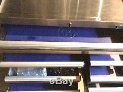 Kobalt 3000 41x 41 11 Drawer Stainless Steel Rolling Tool Box Cabinet Lock&key