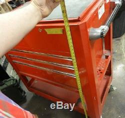MAC Tools Rolling Service Cart toolbox MB1305UC Macsimizer 3 Drawer Utility BIN