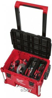 MILWAUKEE 22 in. Rolling Tool Storage Box with Industrial-Grade Extension Handle