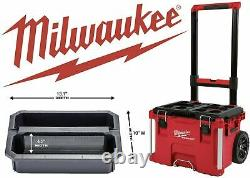 MILWAUKEE 48-22-8426 22 PackOUT Rolling Modular Storage Tool Box NEW