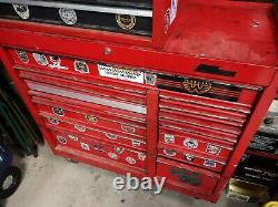 Mac Rolling Chest And Craftsman Toolbox With Tools