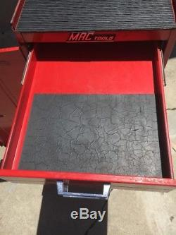 Mac Tools Side Box Rolling Cart Shop tool Chest Box on Casters