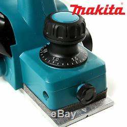 Makita DKP180 18V LXT Planer 82mm With 19 Heavy Duty Rolling Storage Toolbox