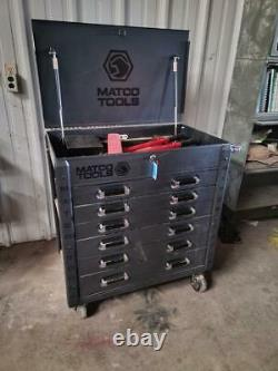 Matco Tools 35 6-drawer Rolling Tool Box Silver Vein