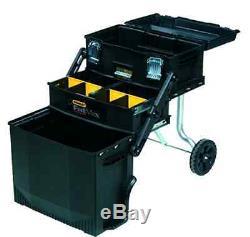 Mechanic Tools Parts Box Cabinet Storage Organizer Garage Rolling Wheel Portable