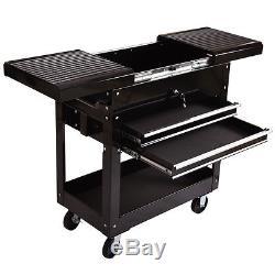 Mechanics Tool Cart Craftsman Rolling Toolbox Tools Storage Organizer 2 Drawer