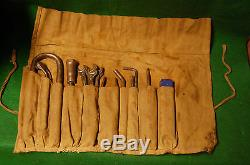 Mercedes 190SL Tool Kit roll Dowidat Matador screwdriver messko gauge box Wrench