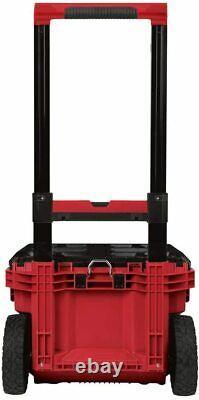 Milwaukee 22 PackOUT Rolling Modular Storage Tool Box New Free Shipping USA