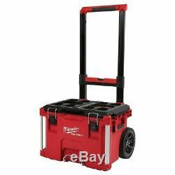 Milwaukee 48-22-8426 M18 PACKOUT Heavy Duty Rolling Tool Box Storage Organizer