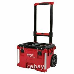 Milwaukee 48-22-8426 PACKOUT 22 in. Rolling Tool Box Brand New