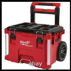 Milwaukee 48-22-8426 PACKOUT Impact Resistant Rolling Modular Storage Tool Box