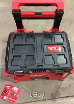 Milwaukee 48-22-8426 PACKOUT Rolling tool Box. Free Shipping