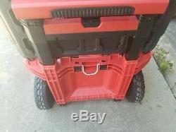 Milwaukee 48-22-8426 Packout Rolling Tool Box WITHOUT tray- see description