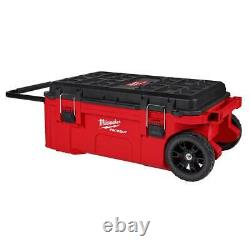 Milwaukee 48-22-8428 PACKOUT Rolling Tool Chest with Dual Stack Top