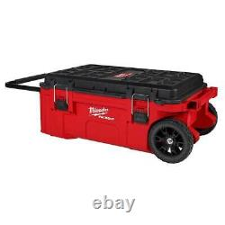 Milwaukee 48-22-8428 PACKOUT Rolling Tool Chest with Dual Stack Top Brand New