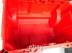 Milwaukee PACKOUT Impact Resistant Rolling Modular Storage Tool Box Set