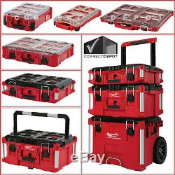 Milwaukee PACKOUT Large Tool Box & Oragnizers Metal Reinforced Padded Handle