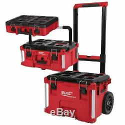 Milwaukee-PACKOUT19 PACKOUT Rolling Tool Box, Large Tool Box, and Tool