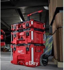 Milwaukee Packout 22 in. Rolling Tool Box Portable Storage Chest Organizer New
