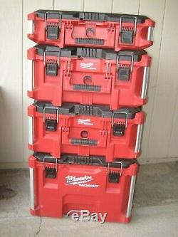 Milwaukee Packout Portable Tool Box Storage Rolling-Wheeled Cart PICK UP ONLY