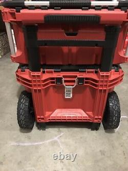 Milwaukee Packout Tool Box Storage System With 2nd Packout Attachment