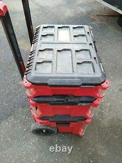 Milwaukee Portable Tool Box 22 in. PACKOUT Modular Water Resistant