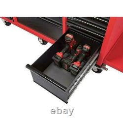 Milwaukee Tool Chest Work Bench Cabinet Pegboard Top 61in Rolling Garage