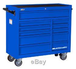Motamec Classic C94 Large Roller Cabinet Tool Chest RollCab Box Roll Cab Blue