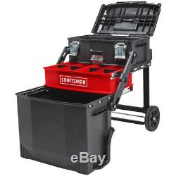NEW Craftsman 22-in 1-Drawer Red Rolling Workshop Wheeled Lockable Tool Box