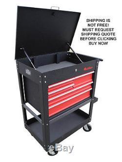 NEW Redline RE-TC327 Roll Cart Toolbox Tool Box Shelf Drawer Lock Storage Mobile