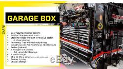 New Premier Toolbox 10 Foot PIT BOX NASCAR Rolling Portable Racing Toolbox