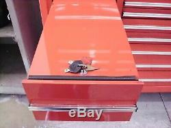 Nice! Matco Tool Box Top Chest #mb2020x & Matco Roll Away Cabinet #mb2010sx