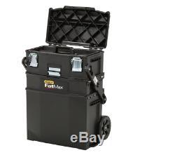Portable Garage Rolling Tool Box Chest Workshop Cart Storage Bin Organizer Cabin