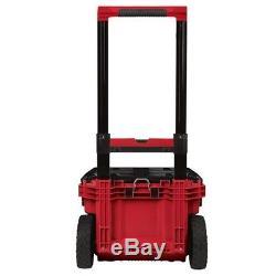 Portable Tool Box Storage Modular Bin Organizer Rolling Wheels Milwaukee Packout