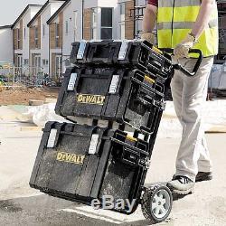 Quality DeWALT Rolling-Wheel Portable Toolbox Cart Chest Tool-Storage-Box (4-pc)