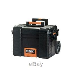 RIDGID Tool Box Portable Rolling Cart Professional Storage Organizer Toolbox NEW
