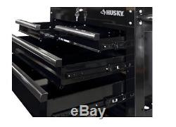 Rolling 4-Drawer Steel Mechanic Utility Tool Storage Cart, Toolbox, Cabinet, Box