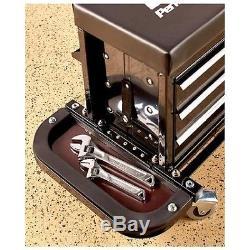 Rolling Metal Work Bench Built In Toolbox Tool Storage Organizer Drawers Mobile