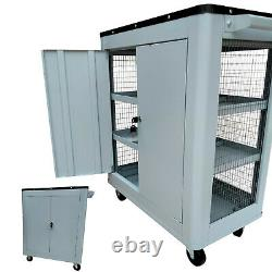Rolling Tool Box Chest Storage Cabinet On Wheels Mechanic Garage Steel Tough NEW